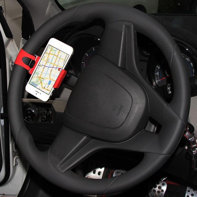 Car Steering Wheel Phone Holder For Land Roversubarupeugeotford