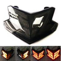 Modified Z800 Motorcycle LED TailLight LED Winker Lamp Red Rearlamp stop Tail Light taillamp taillight KAWASAKI Z125 ZX6R 636