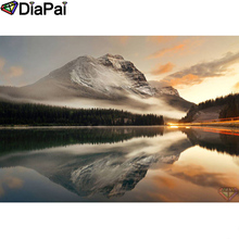 DIAPAI Diamond Painting 5D DIY 100% Full Square/Round Drill Mountain scenery Embroidery Cross Stitch 3D Decor A18544