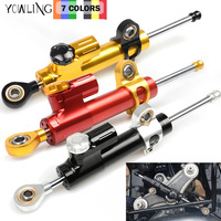 For YAMAHA R1 YZFR1 YZF R1 YZF R1 1998 1999 2000 2001 Motorcycle CNC Damper Steering StabilizerLinear Reversed Safety Control