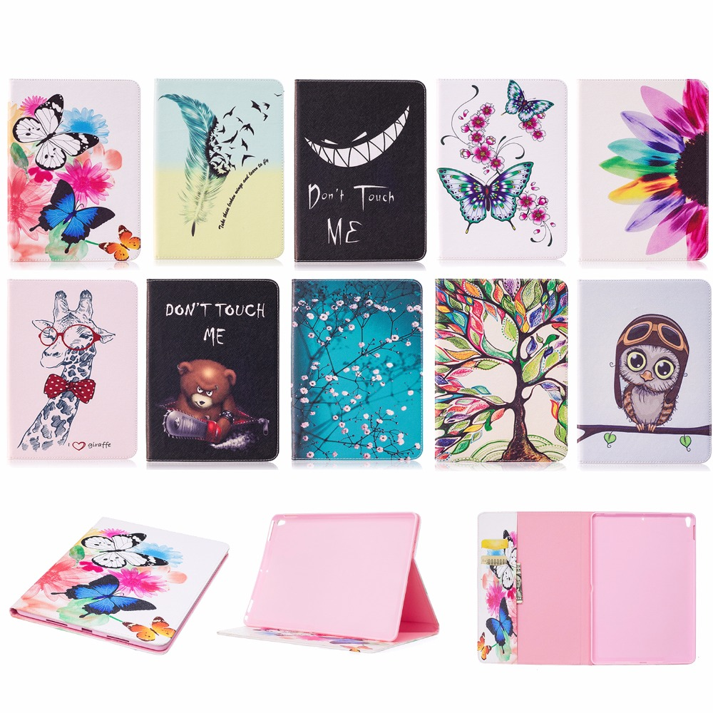 2018 New For iPad Pro 10.5 inch 2017 Case Luxury Ultra thin PU Leather+Soft Silicone Armor Full Body Protective Back Case Cover back shell for new ipad 9 7 2017 genuine leather cover case for new ipad 9 7 inch a1822 a1823 ultra thin slim case protector