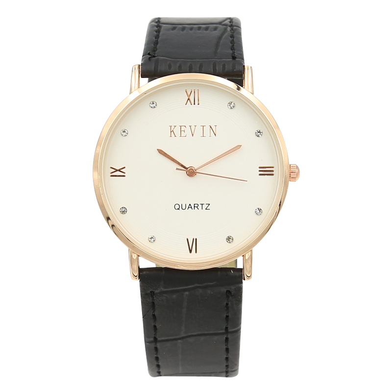 2017 New Brand Quartz Watch Lovers Watches Women Men Dress Watches Leather Couple Wristwatches Fashion Casual Gold Watch For Men
