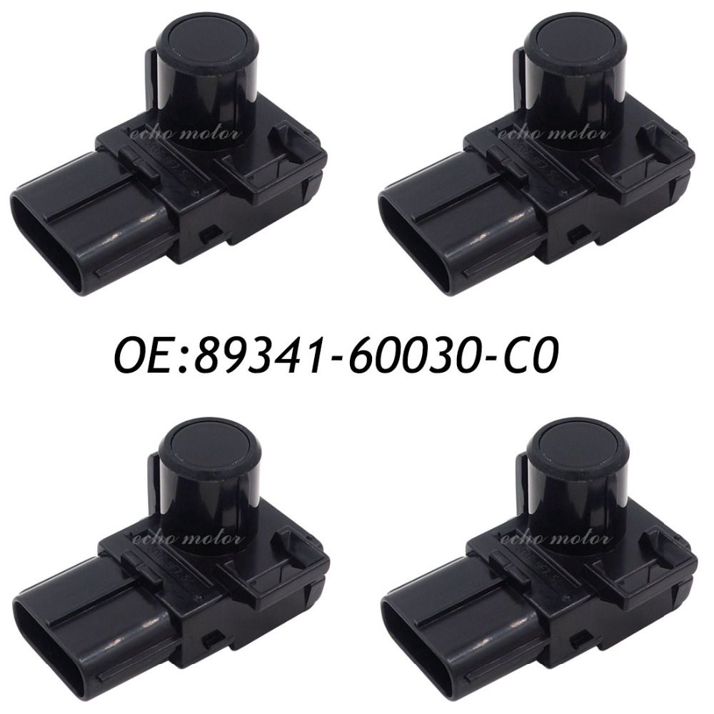 Фото New 4PCS 89341-60030-C0 89341-60030 Parking PDC Ultrasonic Sensor For Toyota Land Cruiser Prado 2012-2013 188400-2000