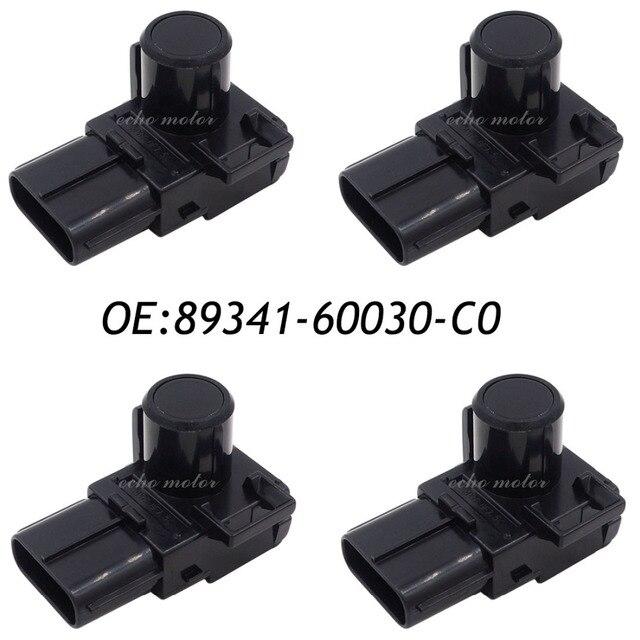 New 4PCS 89341-60030-C0 89341-60030 Parking PDC Ultrasonic Sensor For Toyota Land Cruiser Prado 2012-2013 188400-2000