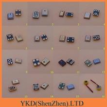16 modelleri XiaoMi M4 küçük büyük 4 pin 5pin 6Pin M2A 4G 1S için Samsung I9500 S4 s5 I9300 9200 NOTE3 telefon için MIC mikrofon