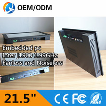 OEM 21.5″ industrial tablet pc inter J1900 1.99GHz Resistive touch all in one pc Resolution 1920X1080