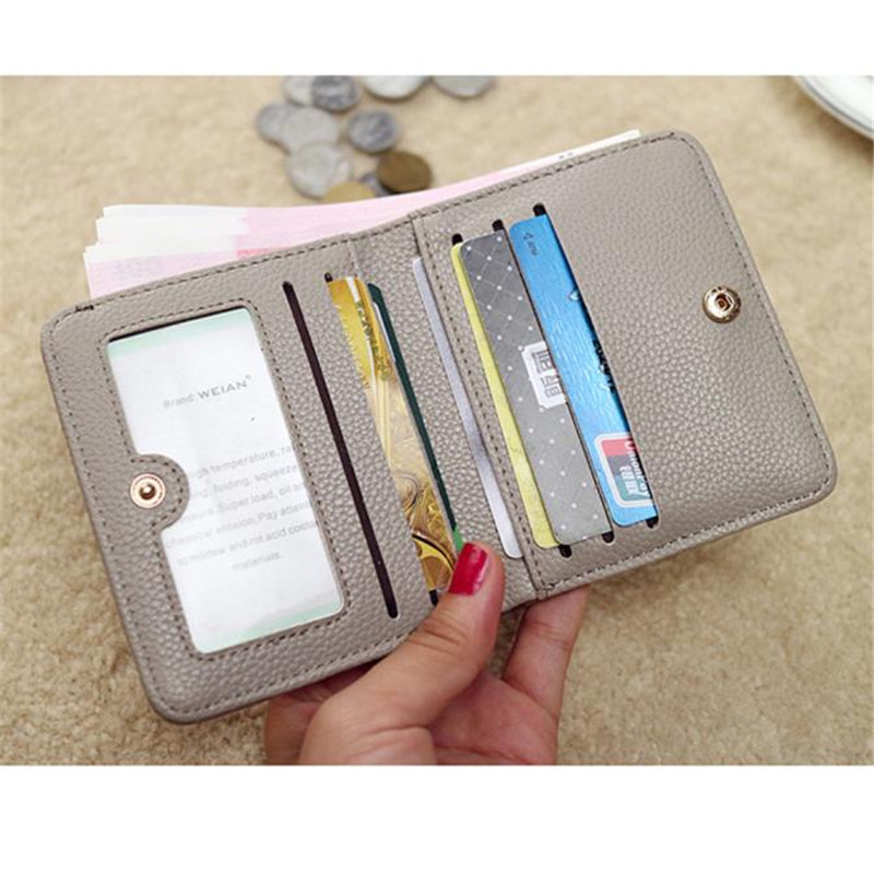 da forma para mulheres embreagem 1. : Portefeuille Femme, pu Leather Long Purse Wallet