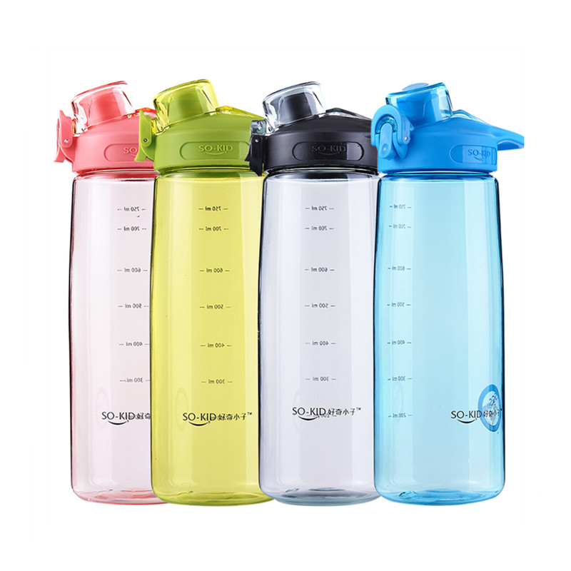 500ml/750ml/1000ml Sports Water Bottle Durable Unbreakable Plastic Leak Proof My Drink Bottle Eco Friendly Waterbottle Drinkware|Water Bottles|   - AliExpress