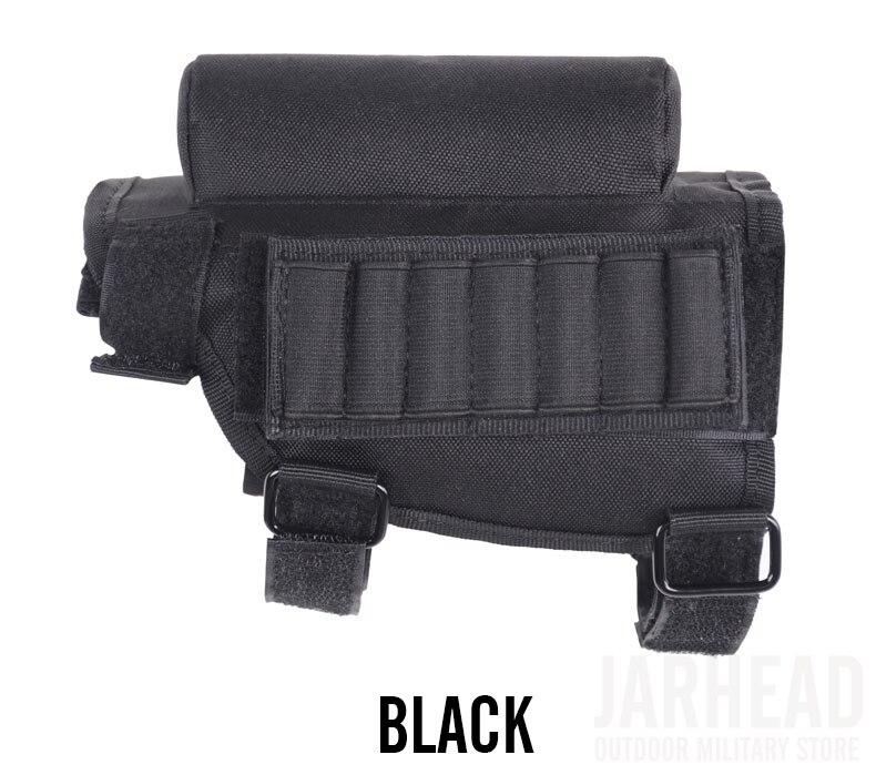 Alta qualidade portátil ajustável tactical butt estoque