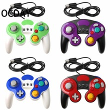 New For Gamecube Controller USB Wired Handheld Joystick For Nintend For NGC GC Controle For MAC Computer PC Gamepad