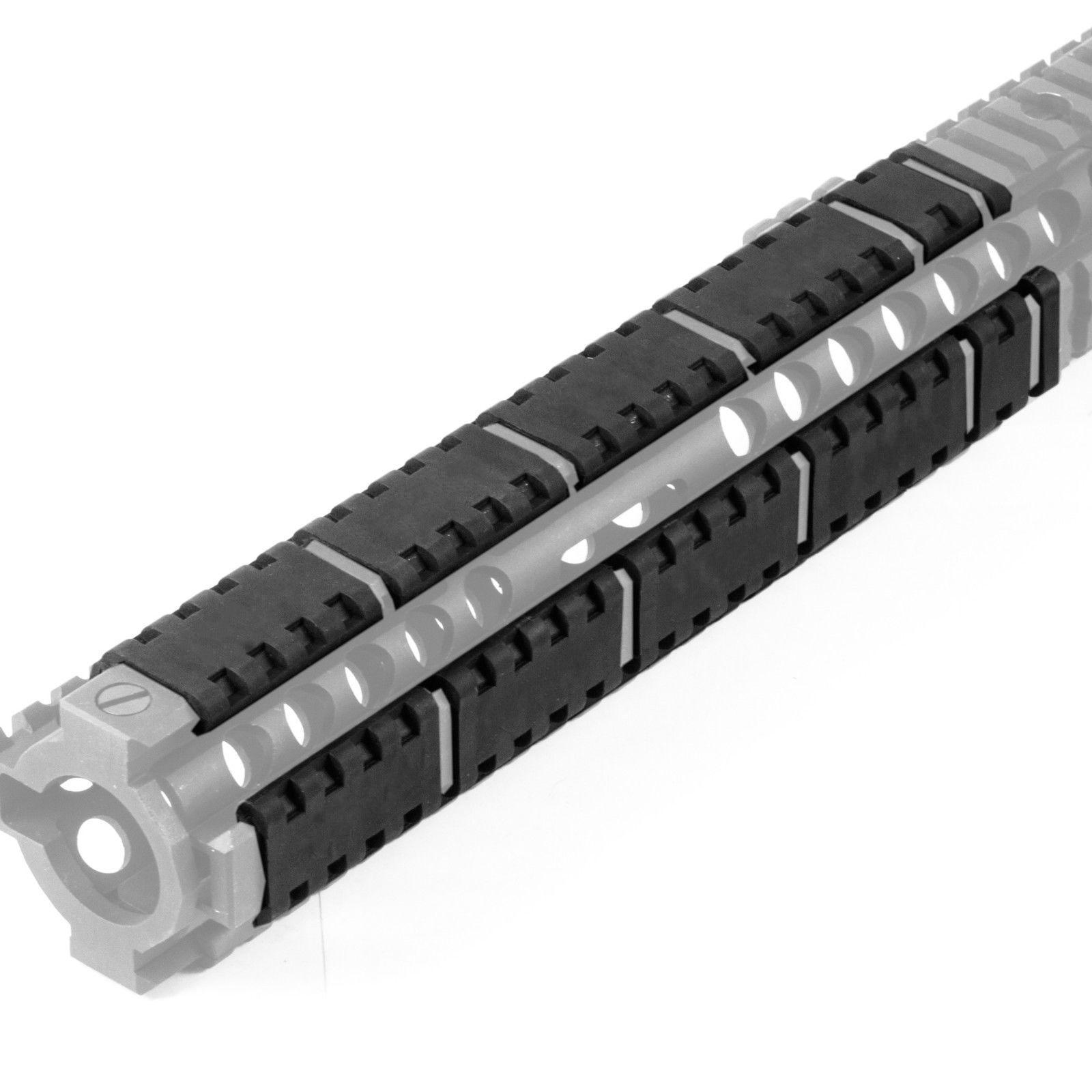 New 20 pcs Hunting rifle Handguard Rail Covers Guard Weaver for ar15 M4 any 20mm Rail (20 Piece Set) Heat Resistent Nonslip(China)