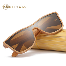 Kithdia Brand New Arrived Natural Wood Sunglasses Polarized With Bamboo Box and Support DropShipping / Provide Pictures #KD205