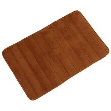 Bath mat memory foam non-slip Bath mats 50*80 cotton Super absorbent-dark khaki