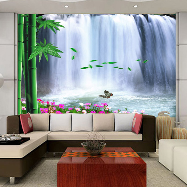 Aliexpresscom Buy High quality washable wallpaper forest