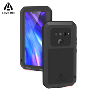 For LG V50 ThinQ Case Shockproof Anti Knock Protective Shell + Tempered Glass Protector For LG V40 V30 ThinQ V30 Plus Case