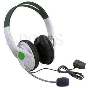 Image 4 - Marsnaska 2016 חדש לבן & שחור ניגודיות צבע אוזניות אוזניות עם מיקרופון מיקרופון עבור Xbox 360 חי בקר באיכות גבוהה