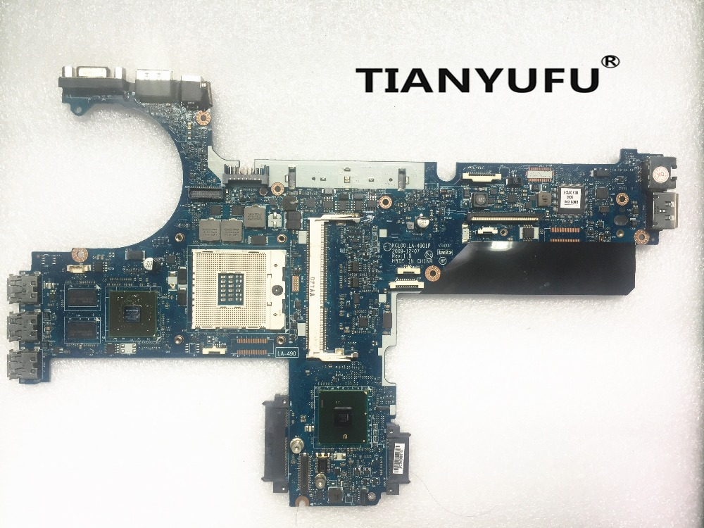For HP Elitebook 8440P Laptop Motherboard 594026 001 594027 001 KCL00 LA 4901P DDR3 QM57 Quadro