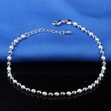 Ladies Silver Anklet