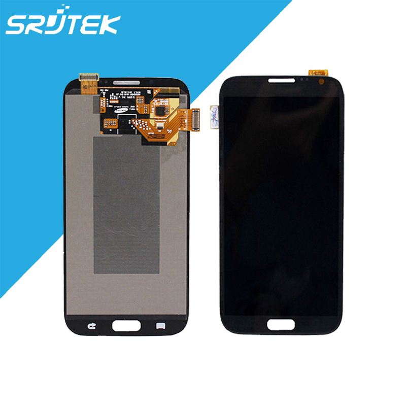 NEW Original for Samsung Galaxy Note 2 N7100 LCD Display with Touch Screen Digitizer Sensors Panel Replacement Parts