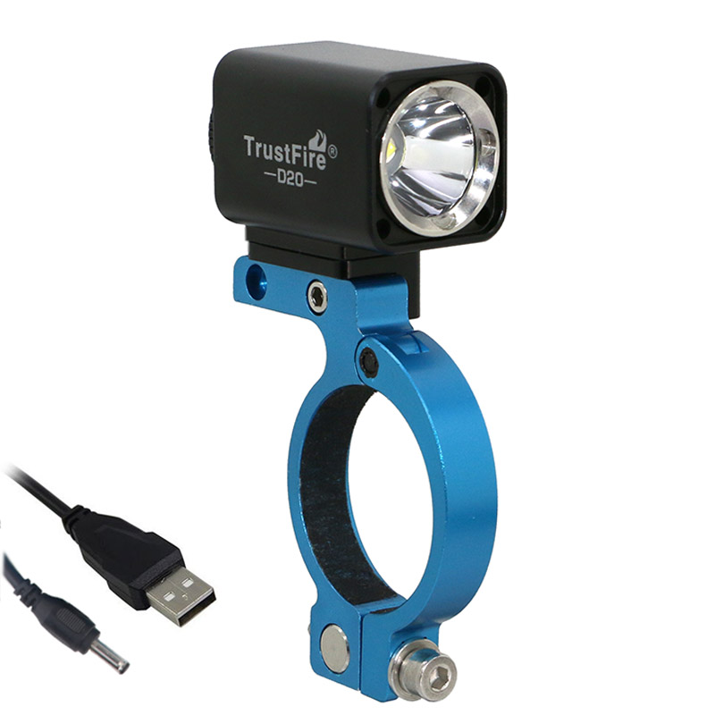 USB Bicycle Light * L2 Led Trustfire D20 Cycling Mount Bracket Extend Holder For GARMIN BRYTON Bike Computer GoPro Camera