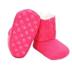 Детские Обувь для девочек мягкая подошва кроватки теплая Кнопка Туфли без каблуков хлопок загрузки малышей Prewalke shoesbaby Мокасины Bebek ayakkabi l10192