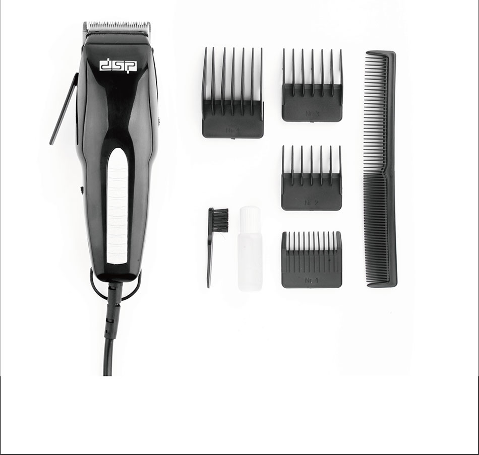DSP Professional Hair Clipper CE Certificated Hair Trimmer Electric Shaver  Beard Clippers Haircut Machine Barber Tools