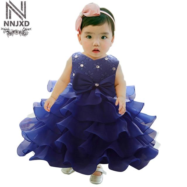 Baby Girl 1 Year Birthday Dress For Newborn Infant Girls Dinner