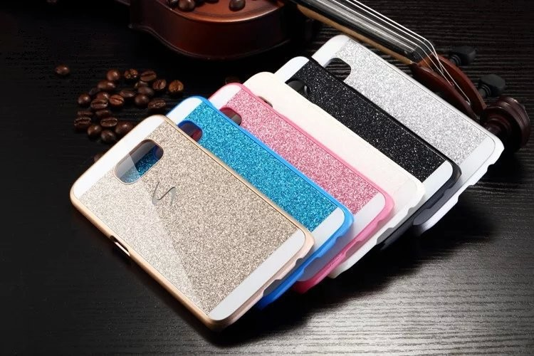 Fashion Luxury Diamond Flash Case For Samsung Galaxy S7 edge S6 Note7 3D Bling Delicate Phone Cases Phone Accessories Protector 2