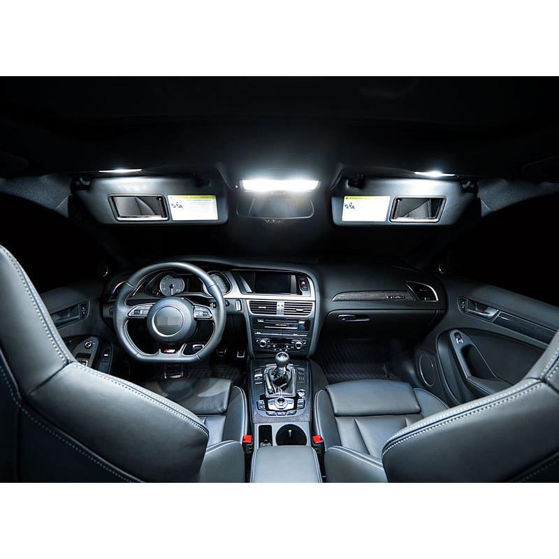 A4 S4 B8 üçün XIEYOU 14 ədəd LED Canbus Daxili işıqlar dəsti - Avtomobil işıqları - Fotoqrafiya 3