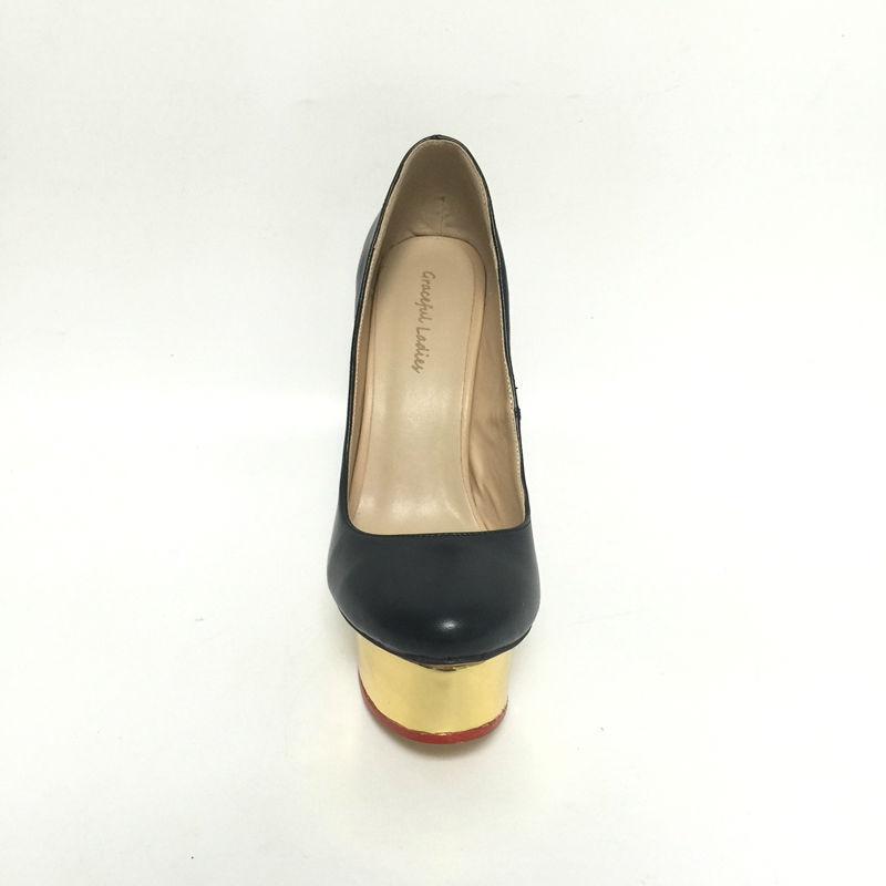 Rouge Super Sexy Hauts Vintage Noir Talon De Pu forme Chaussures Noir Personnalisé Plate Femmes Printemps Chaussure Des Talons multi Soirée Pompes U71cx6Pqw