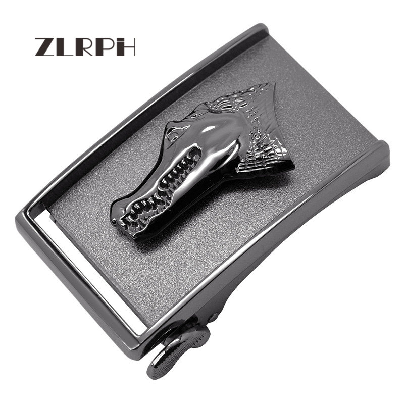 ZLRPH Famous Brand Belt Buckle Men Top Quality Luxury Belts Buckle For Men Strap Male Metal Automatic Buckle