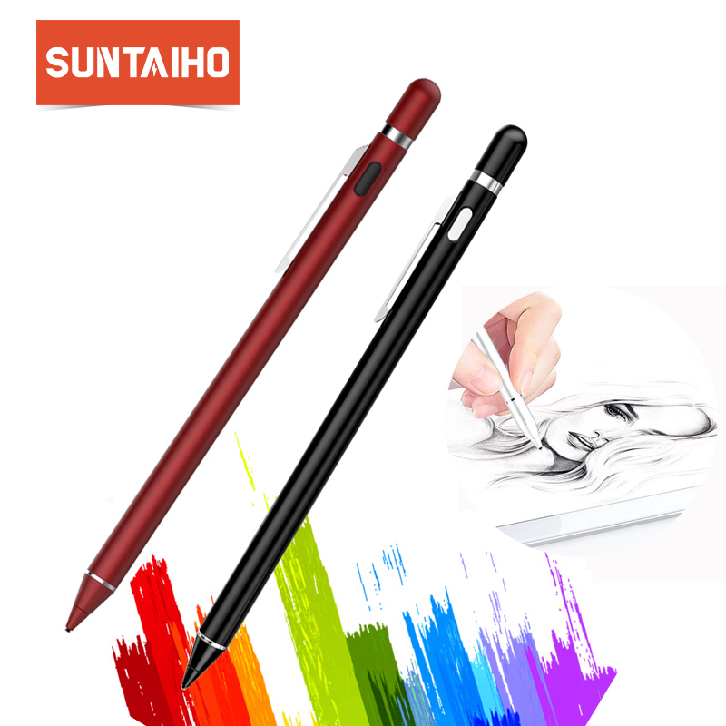 Suntaiho For Apple Pencil stylus Pen capacitance High precision touch Pen For iPhone iPad Pro/ 1 / 2 / 3 / 4 / iPad mini