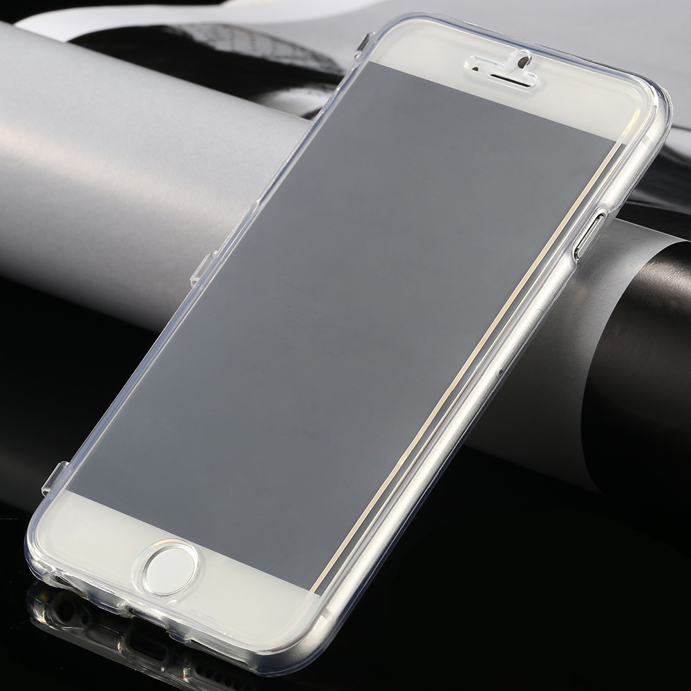 info for 5e8ea 341b8 US $2.0 |Hot Selling Ultra Thin Slim Clear Flip Case for Apple IPhone 6/6S  6S Plus/6 Plus Soft TPU Silicon Cover Transparent Phone Bag on ...
