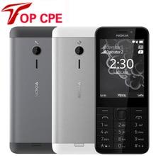 "Original Nokia 230 Unlocked GSM 2.8"" Dual SIM 2MP 360P"