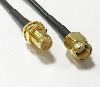 Extension Cable RP SMA Male to RP SMA Female Connector Coaxial Cable Adapter Pigtail Cable LMR240 Pigtail Cable 5M