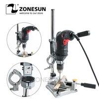 ZONESUN Elektrikli Matkap Standı Elektrikli El Aletleri Aksesuarları tezgah matkabı Basın Standı DIY Aracı Taban Çerçeve Matkap Tutucu Matkap Chuck|Mutfak Robotları|   -