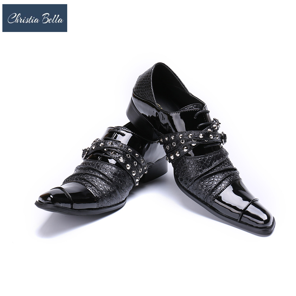 Christia Bella Handmade Buckle Strap Oxfords Monk Shoes Men Formal Business Dress Shoes Men's Flats Plus Size Leather Men Shoes sitemap 261 xml