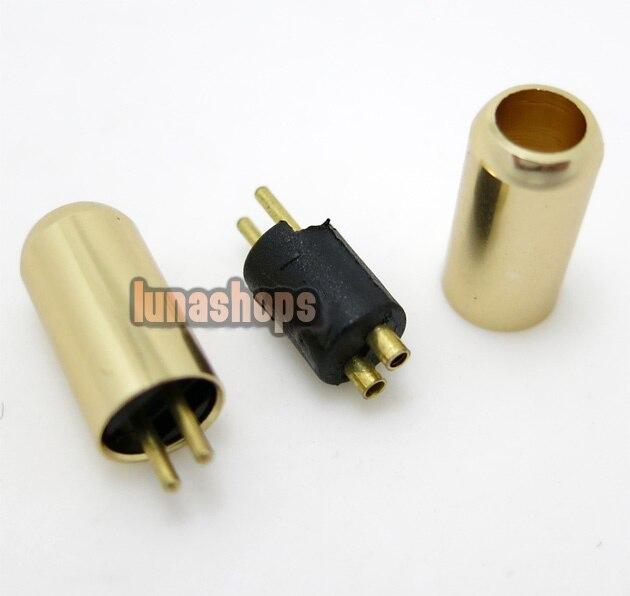 Aluminium Shell Ultimate UE tf10 5pro sf3 0.75mm Earphone Pins Plug For DIY Cable LN001929