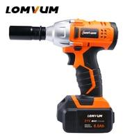 LOMVUM Frameless Wrench 280N.m wheel hilti tool cordless Electrical Impact wrench nut spanners screw gun avvitatore ad impulsi