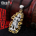 Beier 925 silver sterling figure pendant necklace fashion jewelry Free give rope  A1591