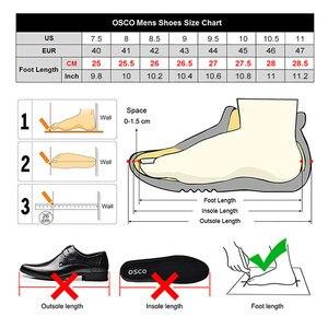 Image 5 - OSCO ของแท้หนังผู้ชายรองเท้ากันน้ำรองเท้าผู้ชายรองเท้าแฟชั่นรองเท้าผู้ชาย Top Top ฤดูหนาวผู้ชายรองเท้า