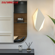 Nordic LED Wall Lamps Indoor Lighting For Bedside Bedroom Living room Corridor Sconce Aluminum Lamp Modern Art decor Fixture