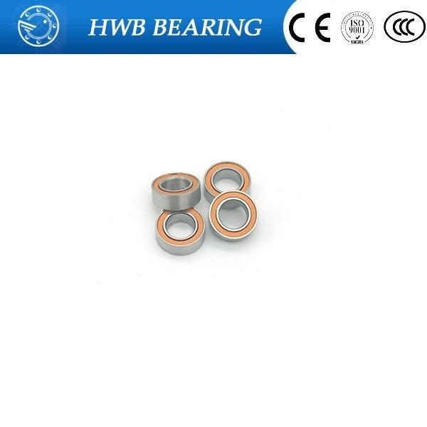 7x11x3 mm Rubber Sealed Ball Bearings Bearing MR117RS BLUE MR117-2RS 10 Pcs