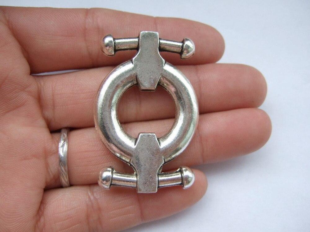 Gatillo ganchos de giro 10 X 25mm De Metal Resistente Tipo de plomo de perro Correas Práctico
