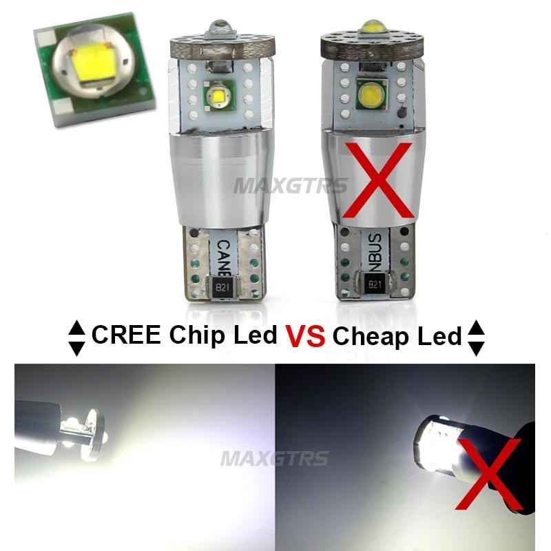 2Pcs T10 W5W 15W 1350lm υψηλής ισχύος Cree Chip XP-E - Φώτα αυτοκινήτων - Φωτογραφία 6
