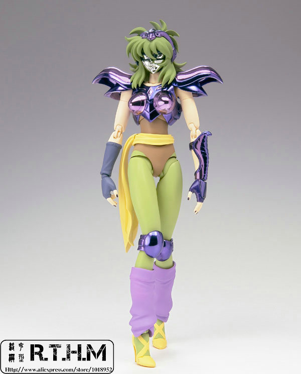 Saint Cloth Myth Bandai Shaina de Ophiuchus From Saint Seiya Action Figure Super Hero syscooling sc 300t water cooling pump water pump tank for pc cpu liquid cooling
