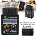 ELM327 V2.1 OBD 2 OBD-II бензин авто Bluetooth диагностический интерфейс Сканер Поддержка OBD-II протоколов инструмент сканирования