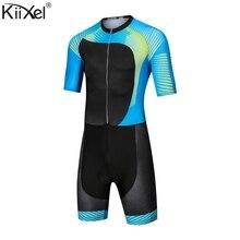 Для мужчин про супер Speedsuit велокостюм Для Мужчин's для триатлона, занятий спортом Костюмы Велосипедная форма комплект Ропа де Ciclismo Maillot