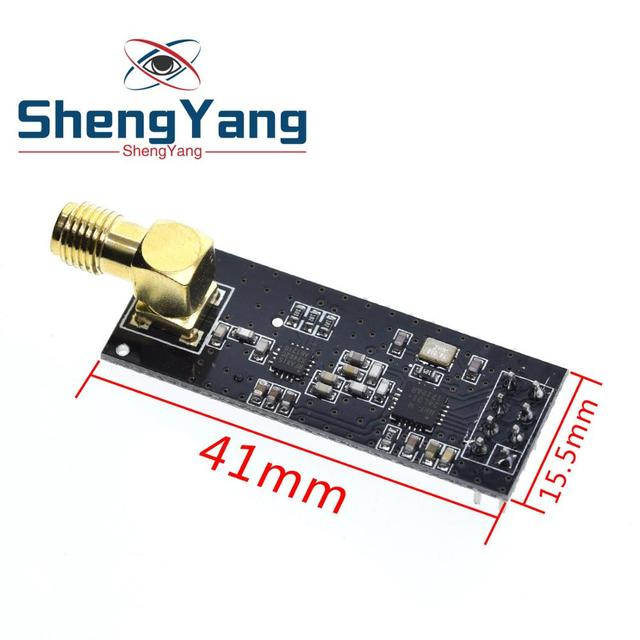 ShengYang NRF24L01 + PA + LNA módulo inalámbrico con antena de 1000 metros de larga distancia FZ0410 Somos el fabricante