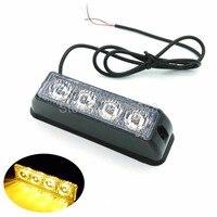 1 stuks * 4 led flash mistlampen lichten, emergency waarschuwing gloeilamp, 12 vv led zaklamp 4 W Das Licht